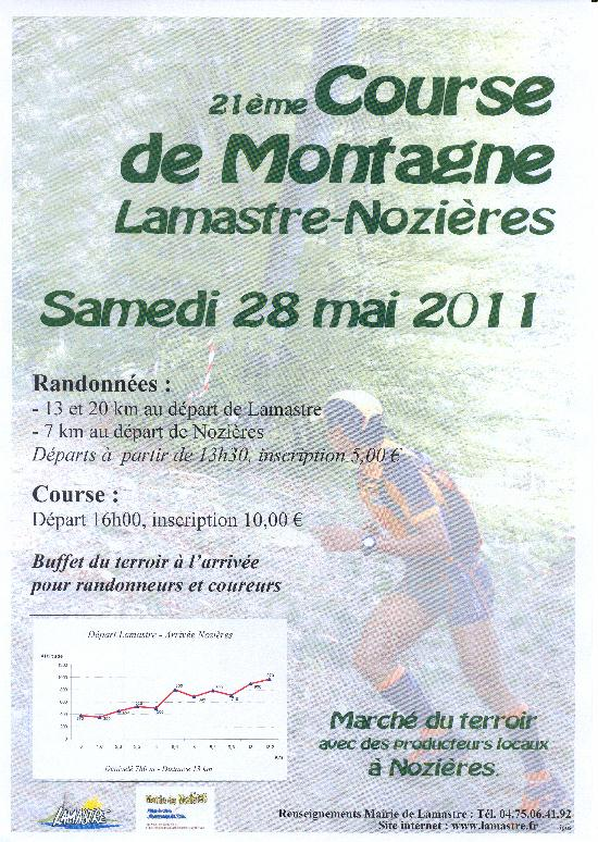 lamastre nozi  cours RED