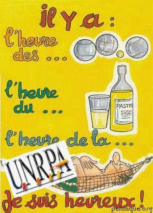 petanque affiche UNRPA