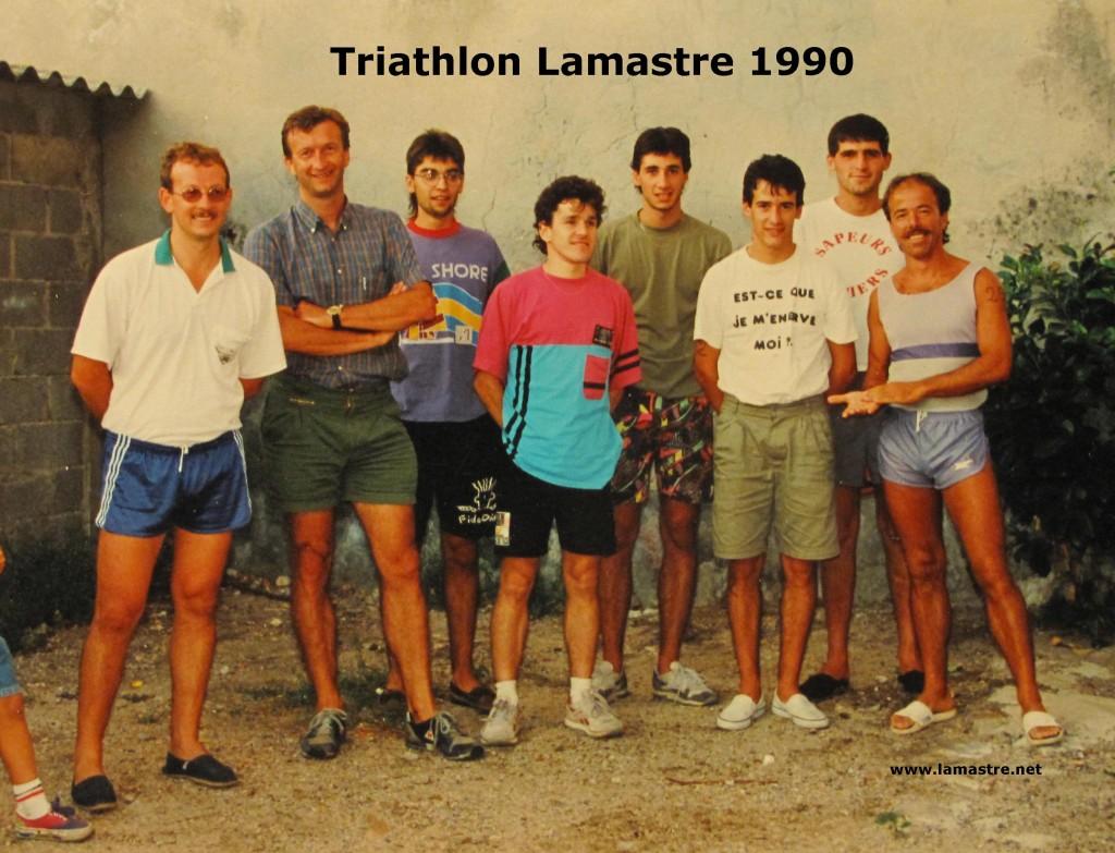 triathlon 1990 LAMASTROIS