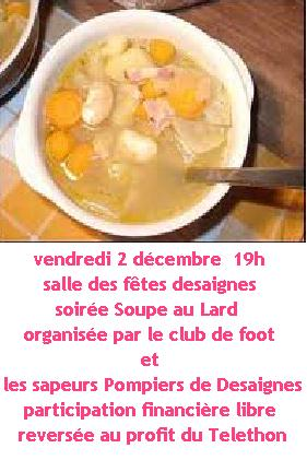 soupe lard fini