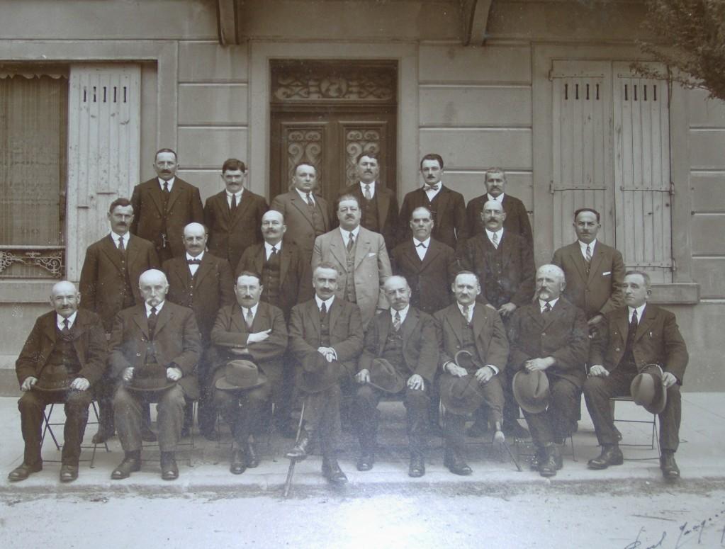 conseil municipal lamastre 1929