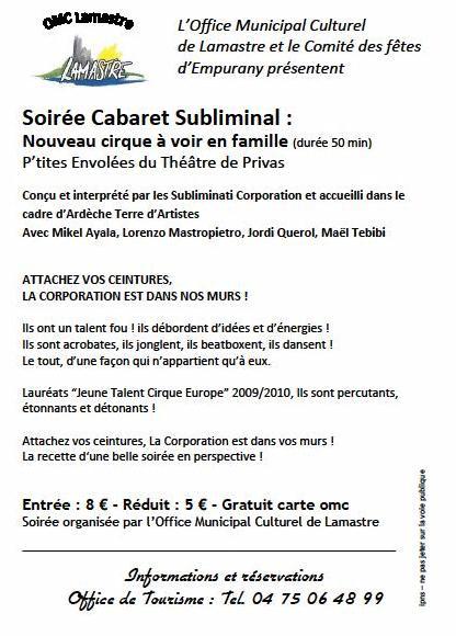 article cab subli2