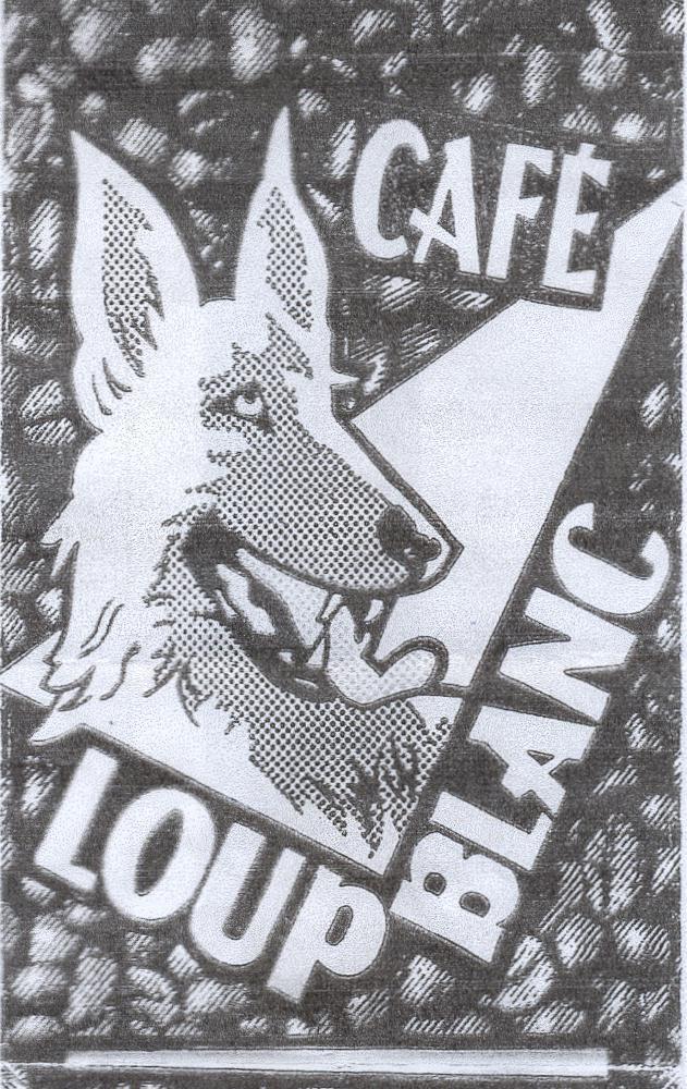 café loup blanc.