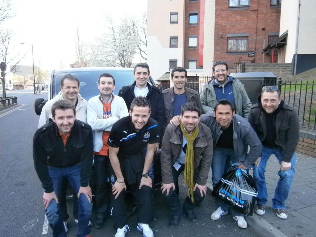 dream team ESL Cabaye New Castle 2012