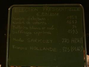 elections présidentielle lamastre 2012 deuxieme tour