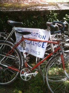 recyclage vélo