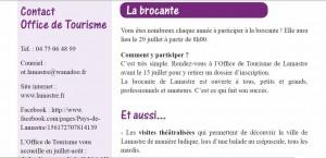 annonce bulletin 2012