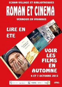 biblio ciné écran roman 2012