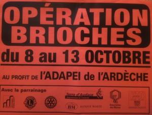 affiche operation brioche 2012
