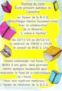 festival livre bibliotheque ecole publique