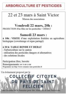 arboriculture sans pesticides Saint Félicien Lamastre confédération paysanne