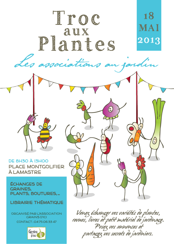 Troc aux plantes lamastre for Jardin aux plantes