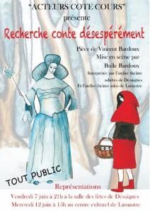 affiche conte desespérement 2013 lamastre desaignes