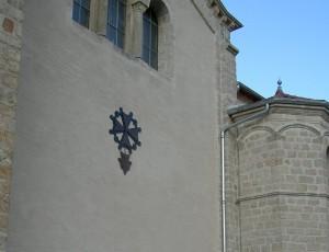 temple lamastre croix huguenote