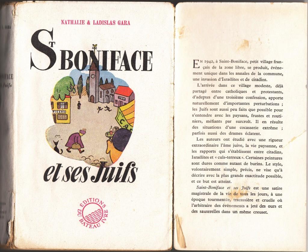 Saint Boniface et ses juifs , été 42 edition originale