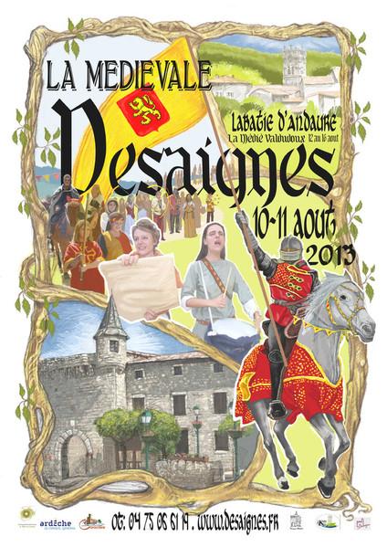 medievale-de-desaignes-2013-desaignes_affiche