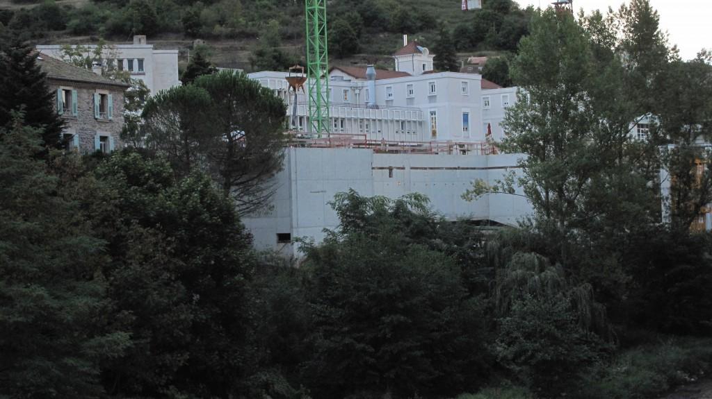 façade sud vide sanitaire EHPAD lamastre