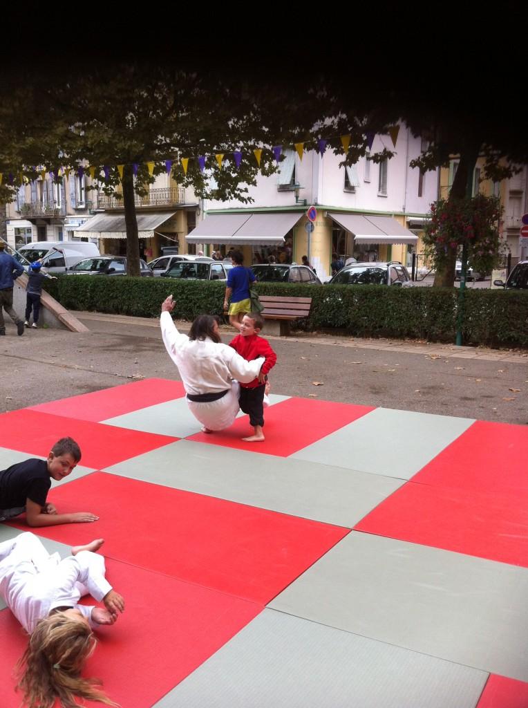 judo club lamastre apprenti