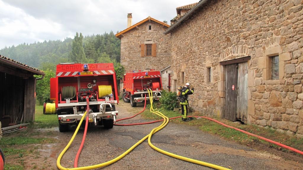 pompe incendie SDIS ardeche maisonseule
