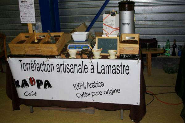 stand torréfaction Kaopa café lamastre
