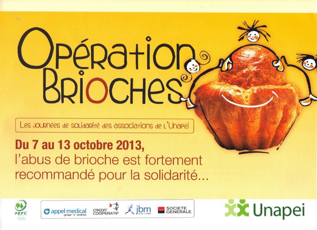 Opération  brioches 2013 ADAPEI
