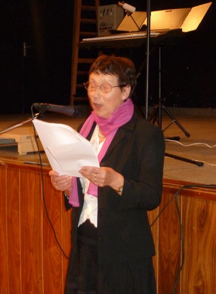 Paulette Rostaind présidente UNRPA lamastre