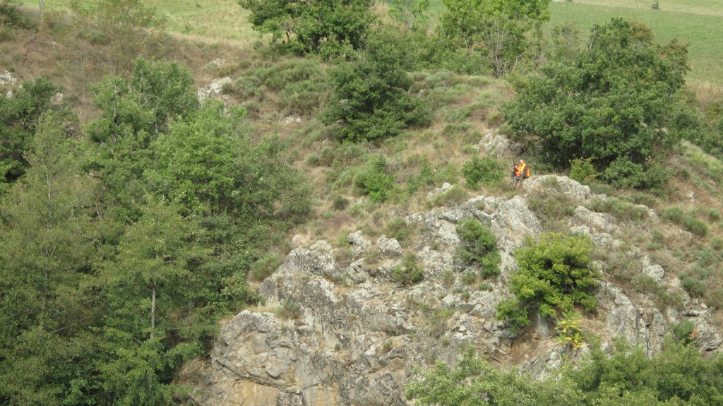chasseur vallée du Doux