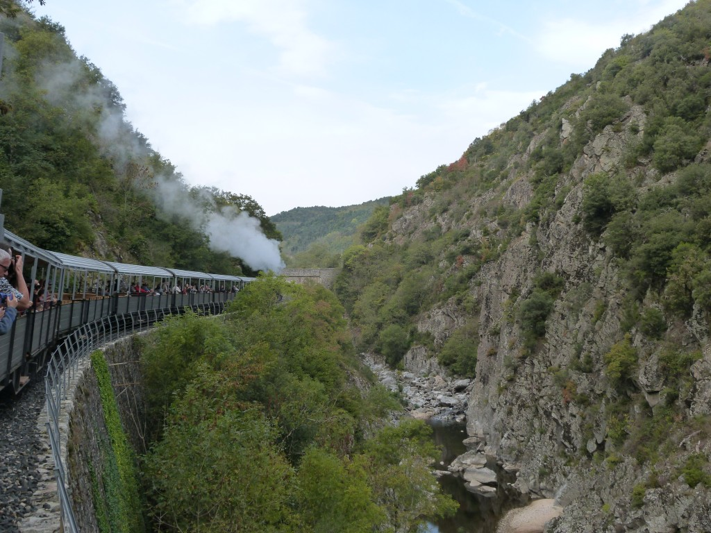 train gorges doux