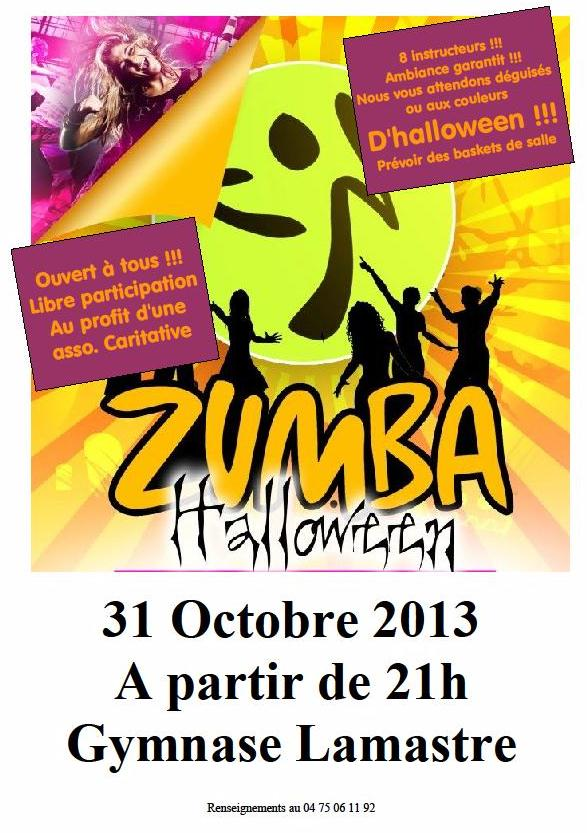 zumba halloween lamastre saint agreve colombier