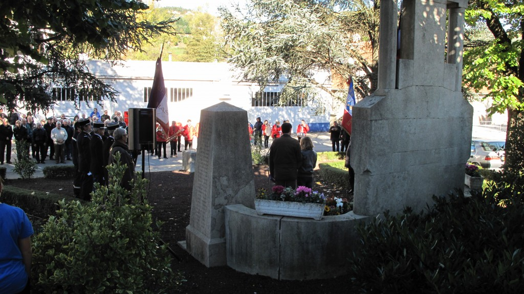 Ceremonie 11 nov 2013 Monument morts