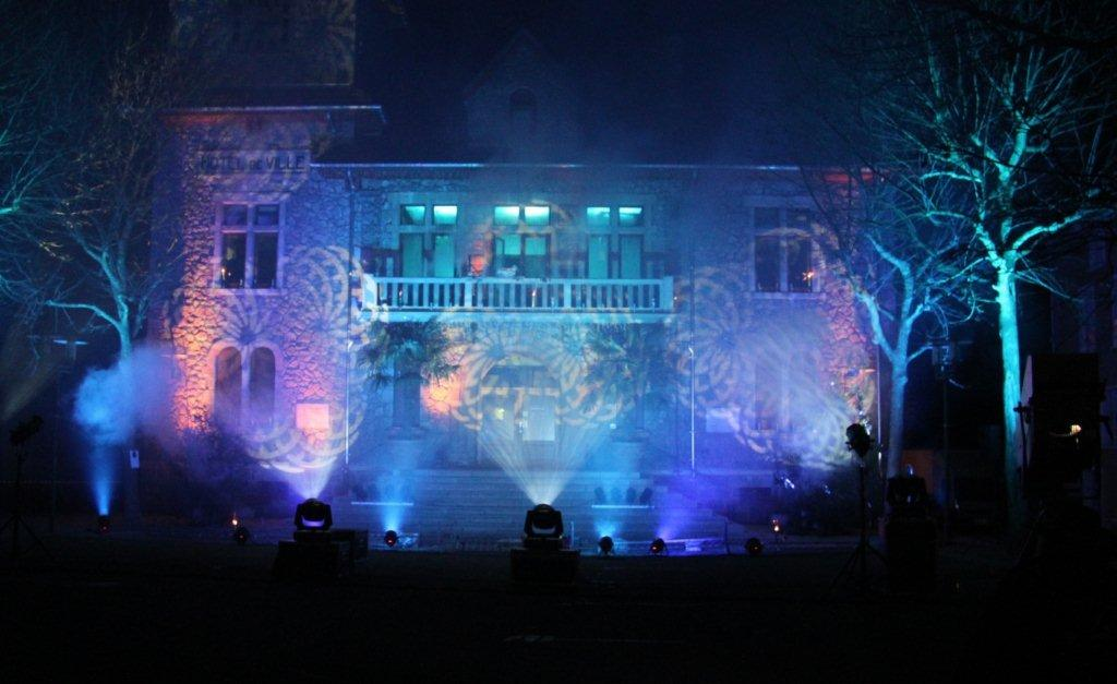 Marché de Noël mairie bleue