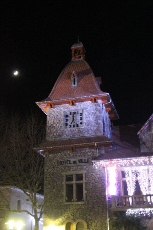 Marché de Noël mairie clocher