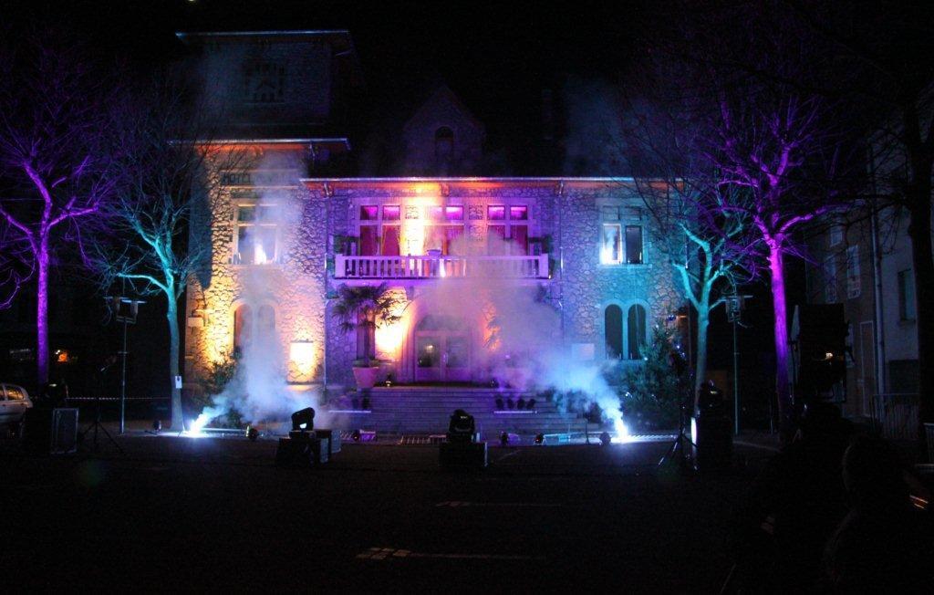 Marché de Noël mairie violette