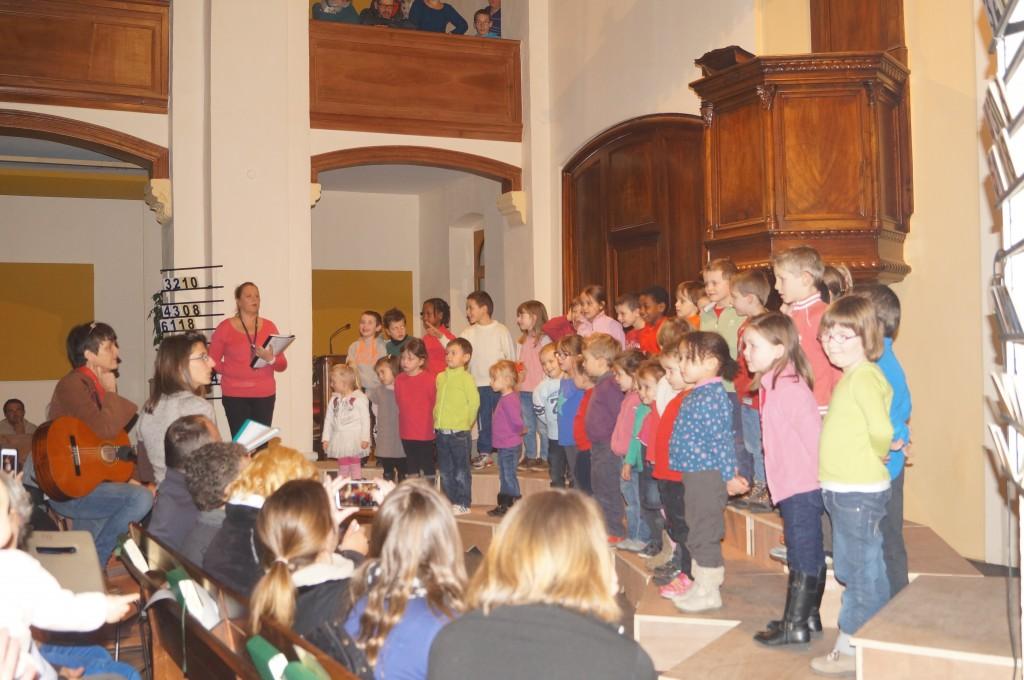 concert noel de l'écoleCharles de Foucauld