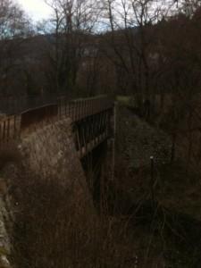 pont métallique eiffel CFD Lamastre