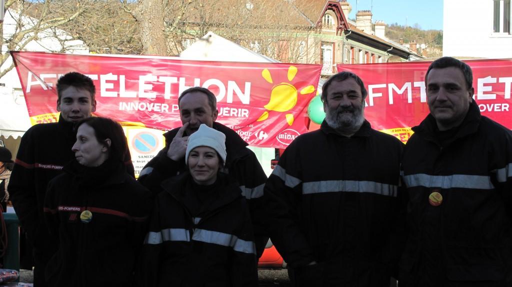 telethon 2013  pompiers lamastre empurany