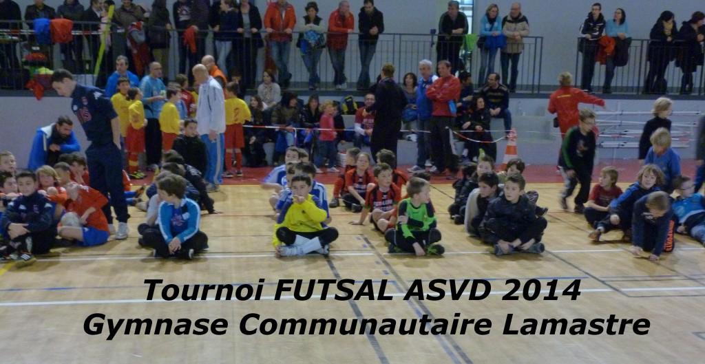équipes gymnase FUTSAL Lamastre 2014