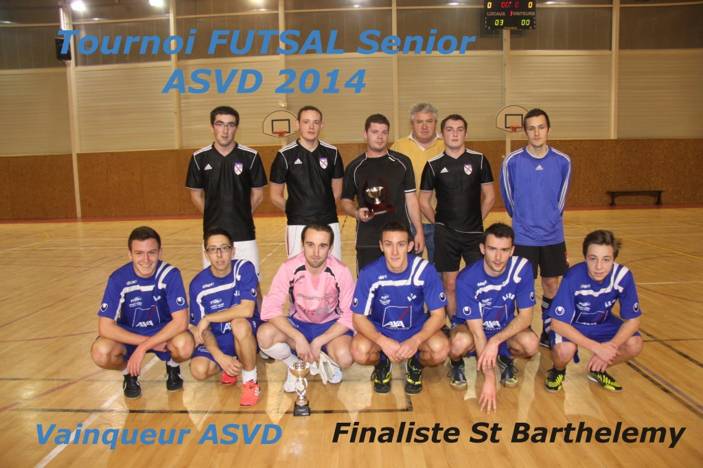 ASVD tournoi futsal equipe foot ASVD vainqueur St Barth finaliste f