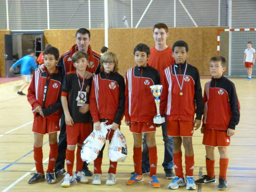 Finaliste AS Valence tournoi FUTSAL U13 ASVD lamastre desaignes