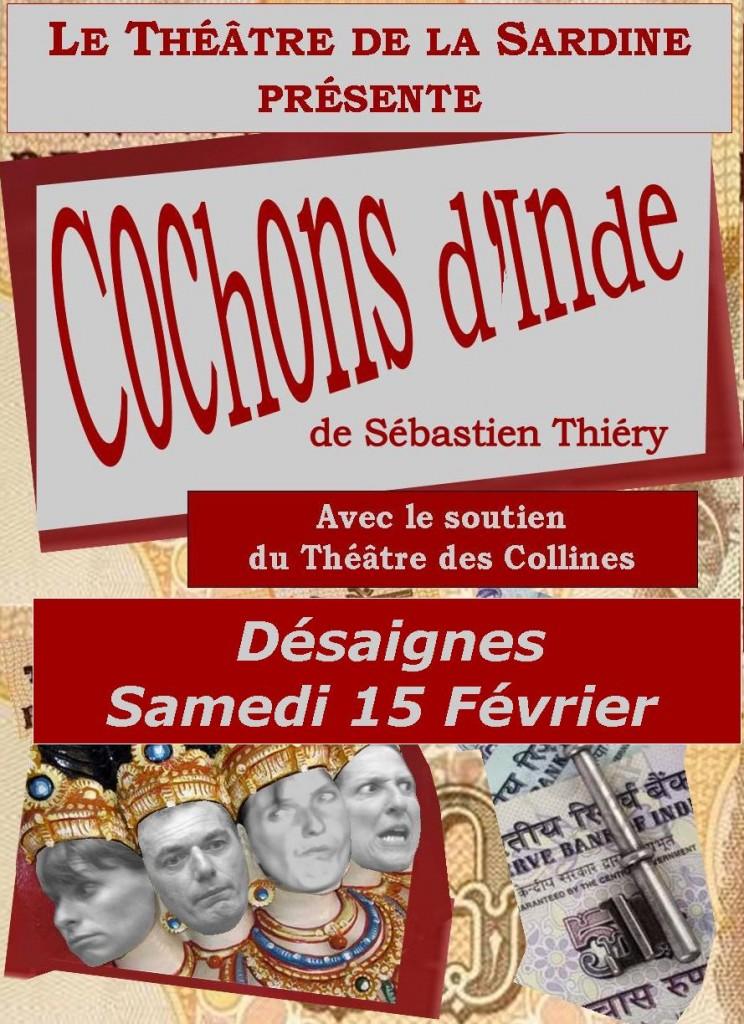 Flyer desaignes cochons