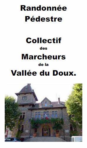 collectif randonneurs vallée du Doux