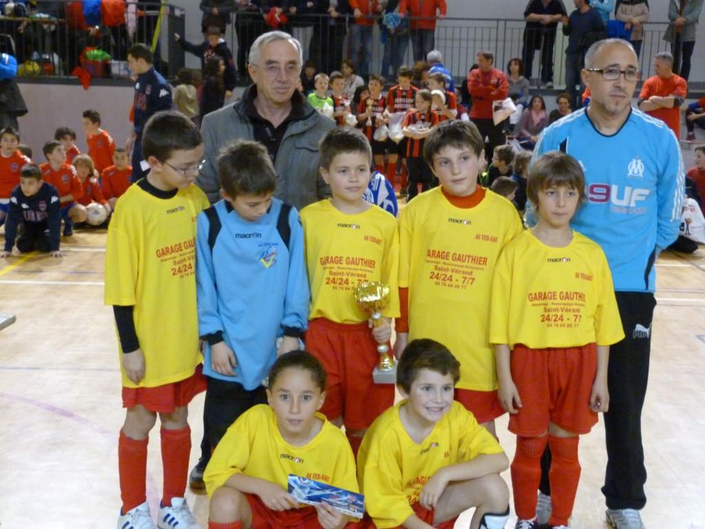 finaliste U 11 VER-SAU futsal ASVD