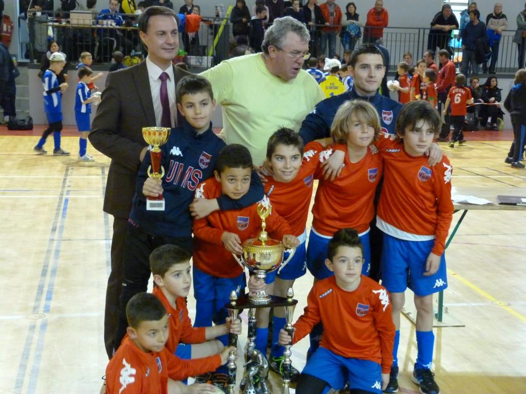 vainqueur U11 montelimar futsal lamastre