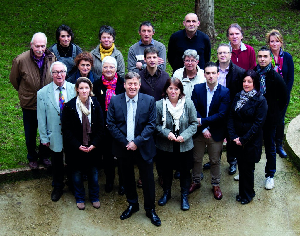 Equipe  municipale -2014 lamastre BOSC