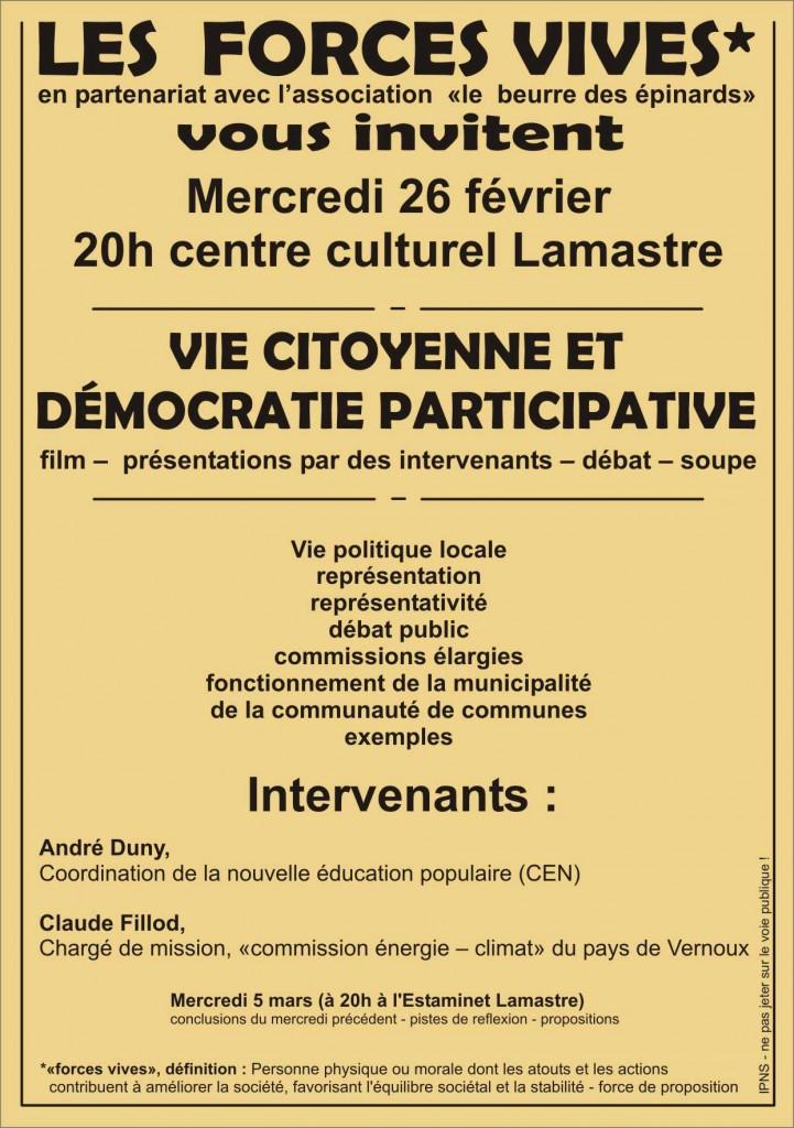 forces vives lamastre vie citoyenne et démocratie participative