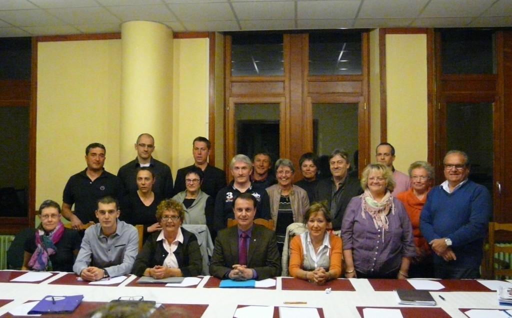 conseil  municipal lamastre mars 2014