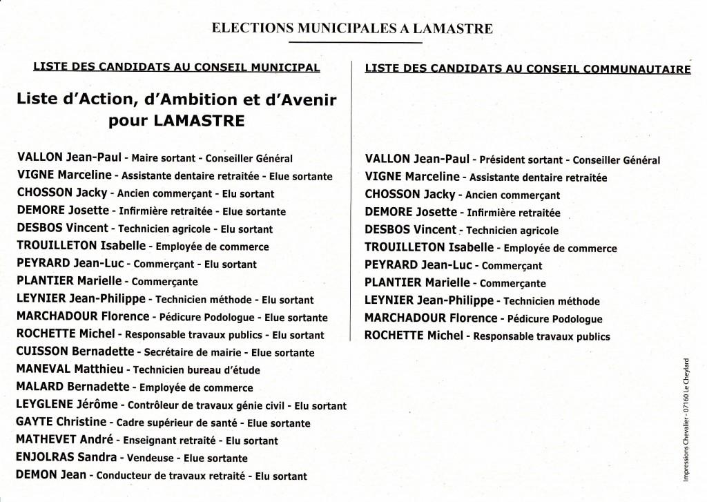 liste vallon lamastre