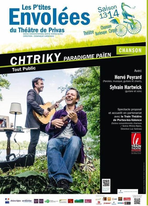 herve peyrard CHTRIKY paradigme paien lamastre 2014