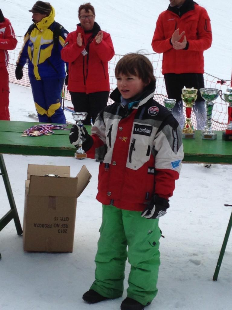 matthieu bouquet champion ski drome 2014