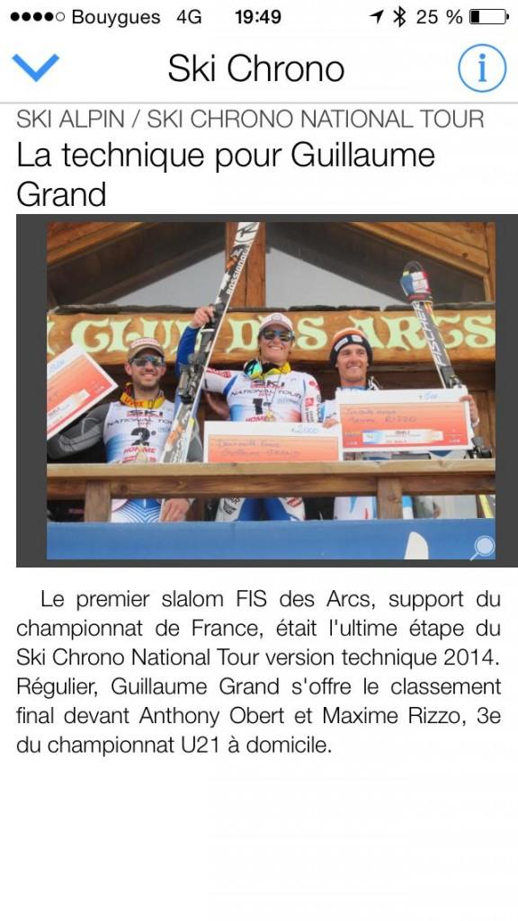 ski tour 2014 podium